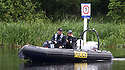 English Police patrol Lower Lough Erne as security restrictions have now come into effect in Enniskillen, Northern Ireland ahead of the G8 Summit, Sunday June 16, 2013. Leaders from Canada, France, Germany, Italy, Japan, Russia, USA and UK are meeting at Lough Erne in Northern Ireland for the G8 Summit 17-18 June. Photo/Paul McErlane