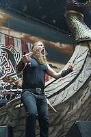 Amon Amarth at Mayhem Fest 2013 in Atlanta, GA.
