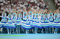 FUSSBALL  EUROPAMEISTERSCHAFT 2012   VORRUNDE Polen - Griechenland      08.06.2012 Impressionen von der Eroeffnungsfeier