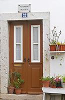 A door. Lisbon, Portugal