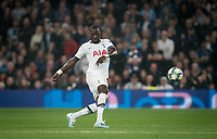 Moussa Sissoko of Spurs during the UEFA Champions League group match between Tottenham Hotspur and Bayern Munich at Wembley Stadium, London, England on 1 October 2019. Photo by Andy Rowland.