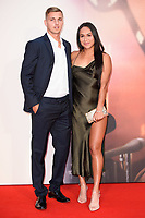 Heather Watson &amp; Lloyd Glasspool at the London Film Festival 2017 screening of &quot;Battle of the Sexes&quot; at the Odeon Leicester Square, London, UK. <br /> 07 October  2017<br /> Picture: Steve Vas/Featureflash/SilverHub 0208 004 5359 sales@silverhubmedia.com