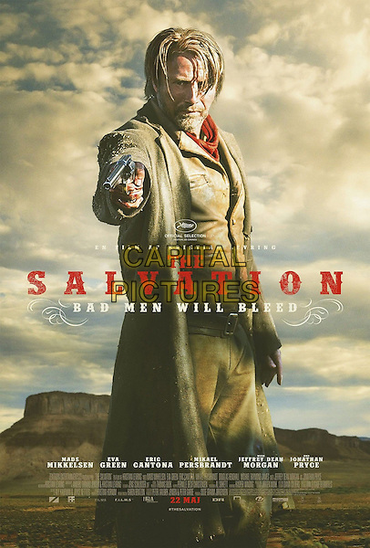 DANISH POSTER ART<br /> in The Salvation (2014) <br /> *Filmstill - Editorial Use Only*<br /> CAP/FB<br /> Image supplied by Capital Pictures