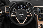 Car pictures of steering wheel view of a 2017 JEEP Grand-Cherokee Laredo 5 Door SUV Steering Wheel