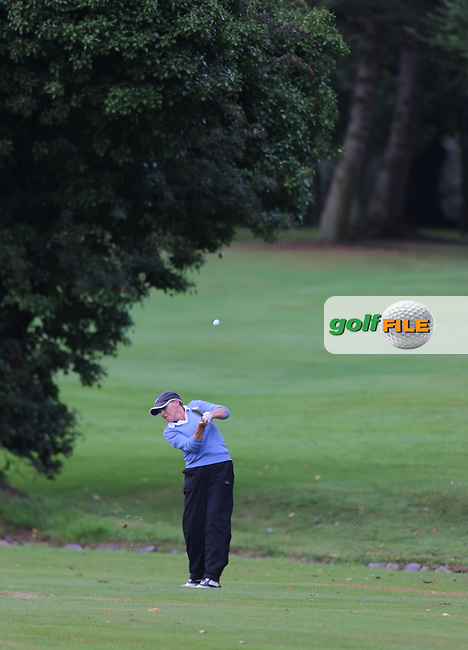 during the Ulster Mixed Foursomes Final, Shandon Park Golf Club, Belfast. 19/08/2016<br /> <br /> Picture Jenny Matthews / Golffile.ie<br /> <br /> All photo usage must carry mandatory copyright credit (© Golffile | Jenny Matthews)