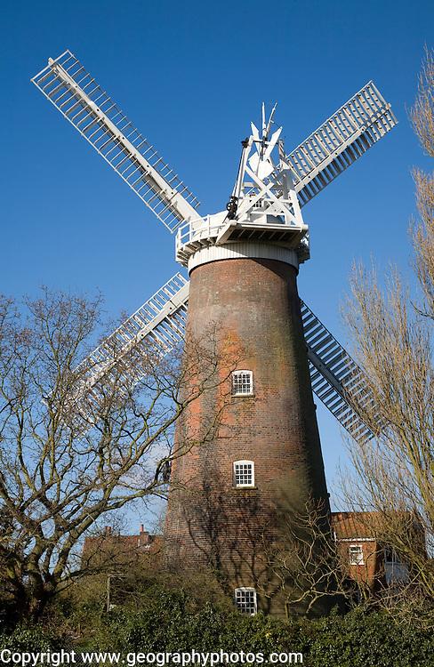 Buttrum's windmill, Woodbridge, Suffolk, England