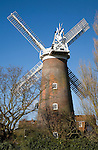 Buttrum's windmill, Woodbridge, Suffolk, England