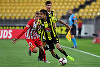 Wellington Phoenix&rsquo; Sarpreet Singh in action during the A League - Wellington Phoenix v Melbourne City FC at Westpac Stadium, Wellington, New Zealand on Saturday 26 January 2019. <br /> Photo by Masanori Udagawa. <br /> www.photowellington.photoshelter.com