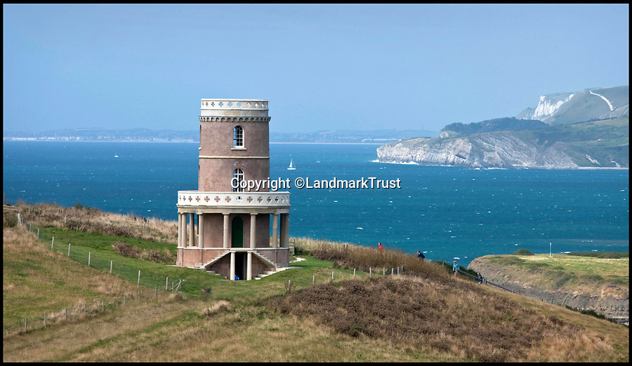 BNPS.co.uk (01202 558833)<br /> Pic: LandmarkTrust/BNPS<br /> <br /> Clavell Tower was moved back from the cliff edge to prevent it sliding into the sea.<br /> <br /> Sold out in five minutes flat - Booking frenzy for Britain's most popular...and windswept room.<br /> <br /> The latest release of dates for Britain's most booked up room sold out in an astonishing five minute's flat this week, meaning you can't now book in to the romantic tower on the Dorset coast untill 2020 at earliest.