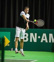 Rotterdam, Netherlands, 11 februari, 2017, ABNAMROWTT, Supermatch semifinal , Bart Becks (NED)