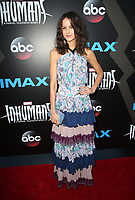UNIVERSAL CITY, CA - August 28: Isabelle Cornish, At Premiere Of ABC And Marvel's 'Inhumans' At Universal City Walk In California on August 28, 2017. Credit: FS/MediaPunch