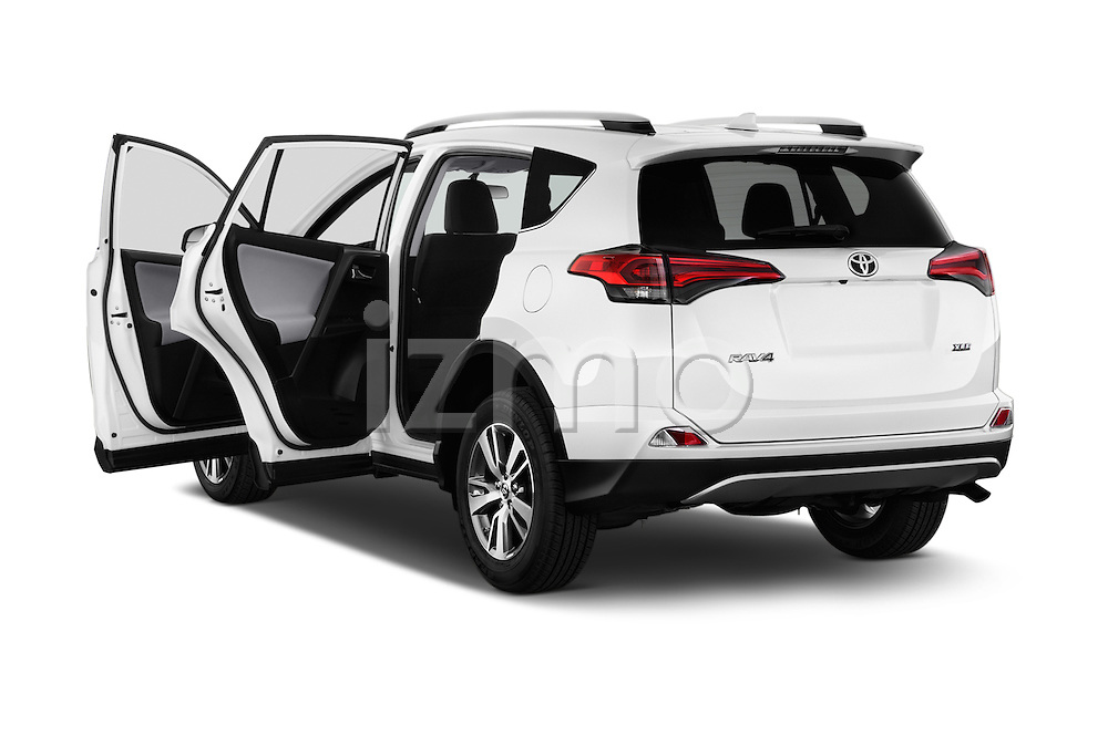 Car images of 2018 Toyota RAV4 XLE 5 Door SUV Doors
