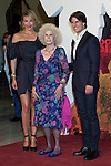 SEVILLE, Spain (16/06/2010).- Cameron Diaz, Cayetana Fitz-James Stuart, Duchess of Alba and Tom Cruise pose on the red carpet prior to the international film premiere of their new film 'Knight and Day' by US director James Mangold in Sevilla ..Photo: Cesar Cebolla / ALFAQUI