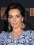 Ana de la Reguera arriving at The Bridge Season Two Premiere held at The Pacific Design Center West Hollywood, CA. July 7, 2014.