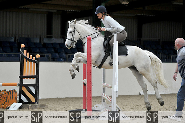 80cm. Blair Wallace-Stocks Clinic. Brook Farm Training Centre. Essex. 16/04/2017. MANDATORY Credit Garry Bowden/Sportinpictures - NO UNAUTHORISED USE - 07837 394578