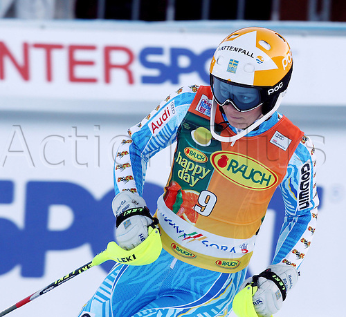 22 01 2012  Ski Alpine FIS WC Kranjska Gora Slalom women  World Cup Slalom for women Picture shows Frida Hansdotter SWE