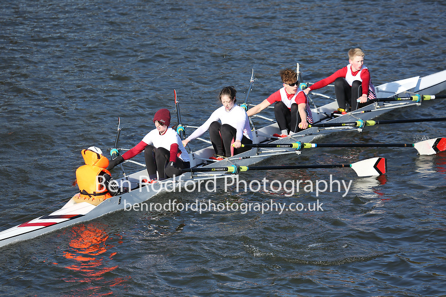 Crew: 30   Burton Leander Rowing Club   BUL-HEATON   J15.4x+<br /> <br /> Head of the Trent 2018<br /> Division 2<br /> <br /> To purchase this photo, or to see pricing information for Prints and Downloads, click the blue 'Add to Cart' button at the top-right of the page.