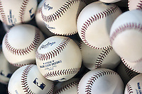 Major League Baseballs. Photo by Andrew Woolley / Four Seam Images.