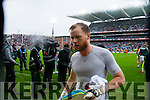 Brendan Kealy, Kerry players after defeating Tyrone in the All Ireland Semi Final at Croke Park on Sunday.