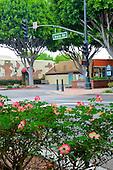 Downtown views of Tustin California