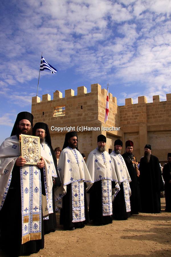 Jordan Valley, Theophany at the Greek Orthodox Monastery of St. John in Qasr al Yahud