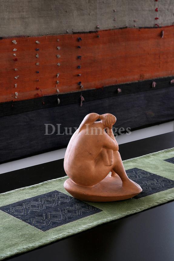 clay statuette