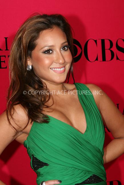 WWW.ACEPIXS.COM . . . . .  ....November 19 2009, New York City....Adrienne Bailon  arriving at the Victoria's Secret 2009 fashion show at the Armoury on November 19 2009 in New York City....Please byline: NANCY RIVERA- ACEPIXS.COM.... *** ***..Ace Pictures, Inc:  ..Tel: 646 769 0430..e-mail: info@acepixs.com..web: http://www.acepixs.com