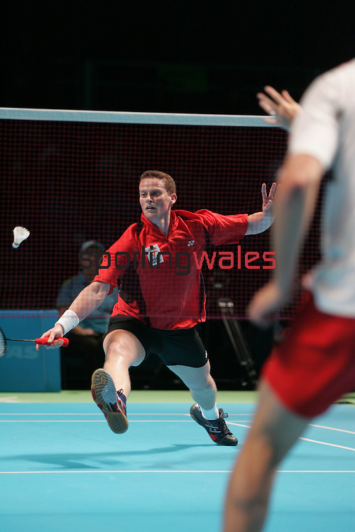 Commonwealth Games Badminton.Melbourne Aquatics Centre.©Steve Pope.Steve Pope Photography.The Manor .Coldra Woods.Newport.South Wales.NP18 1HQ.07798 830089.01633 410450.steve@sportingwales.com.
