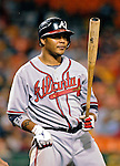 16 May 2007: Atlanta Braves center fielder Andruw Jones in action against the Washington Nationals at RFK Stadium in Washington, DC. The Nationals rallied to defeat the Braves 6-4 to take a 2-1 lead in their four-game series...Mandatory Photo Credit: Ed Wolfstein Photo