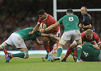 Wales Leon Brown looks for a way through<br /> <br /> Photographer Ian Cook/CameraSport<br /> <br /> 2019 Under Armour Summer Series - Wales v Ireland - Saturday 31st August 2019 - Principality Stadium - Cardifff<br /> <br /> World Copyright © 2019 CameraSport. All rights reserved. 43 Linden Ave. Countesthorpe. Leicester. England. LE8 5PG - Tel: +44 (0) 116 277 4147 - admin@camerasport.com - www.camerasport.com
