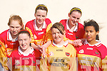 The Valentia Island ladies team that competed in the KDYS county finals in Killarney on Sunday l-r: Maddie Taylor, Elaine Murphy, Denise Curran, Enya O'Connor, Dannii O'Sullivan and Siobhain Sugrue    Copyright Kerry's Eye 2008