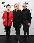 Lynn Ahrens, Susan Stroman and Stephen Flaherty attends the Sneak Peek Presentation for 'Marie, Dancing Still - A New Musical'  at Church of Saint Paul the Apostle in Manhattan on March 4, 2019 in New York City.