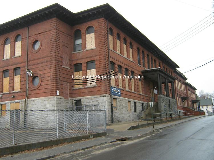 WATERBURY -- Barnard Elementary School has been closed since 2001.