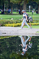 Thomas Pieters (BEL) walks across the bridge on 6 during round 2 of the World Golf Championships, Mexico, Club De Golf Chapultepec, Mexico City, Mexico. 3/3/2017.<br /> Picture: Golffile | Ken Murray<br /> <br /> <br /> All photo usage must carry mandatory copyright credit (&copy; Golffile | Ken Murray)