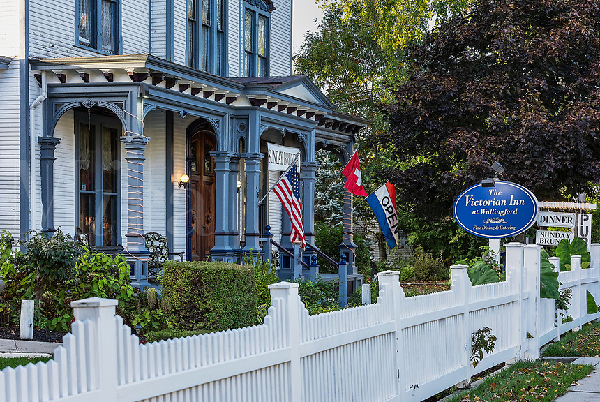The Victorian Inn at Wallingford, Vermont, USA.