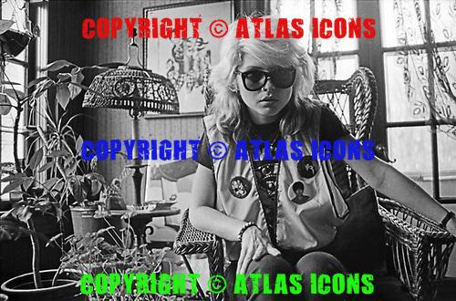 Debbie Harry and Blondie 1978<br /> Photo Credit: Janet Macoska/Atlas Icons