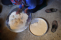 A PIECE OF JORDAN - TRAVEL FEATURE. MAKING TRADITIONAL BREAD . PHOTO BY CLARE KENDALL. 07971 477316.