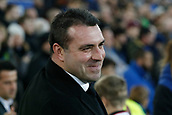 5th November 2017, Goodison Park, Liverpool, England; EPL Premier League Football, Everton versus Watford; Everton caretaker David Unsworth in relaxed mood before the kick off today