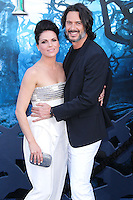 HOLLYWOOD, LOS ANGELES, CA, USA - MAY 28: Lana Parrilla, Fred Di Blasio at the World Premiere Of Disney's 'Maleficent' held at the El Capitan Theatre on May 28, 2014 in Hollywood, Los Angeles, California, United States. (Photo by Xavier Collin/Celebrity Monitor)