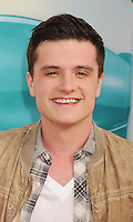 LOS ANGELES, CA - MARCH 31: Josh Hutcherson arrives at the 2012 Nickelodeon Kids' Choice Awards at Galen Center on March 31, 2012 in Los Angeles, California.