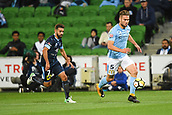 3rd November 2017, Melbourne Rectangular Stadium, Melbourne, Australia; A-League football, Melbourne City FC versus Sydney FC; Bart Schenkeveld of Melbourne City FC chases after the ball