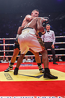 Combat entre les boxeurs  Pascal Jean et  Steve Sauve au Centre Bell,  le  20 juillet 2017<br /> <br /> PHOTO : Denis Germain<br />  - Agence Quebec Presse<br /> <br /> <br /> <br /> <br /> <br /> PHOTO : Agence Quebec Presse