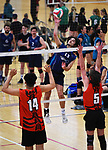NELSON, NEW ZEALAND - Volleyball at Saxton Stadium, Richmond, New Zealand. Saturday 15 September 2018. (Photo by Chris Symes/Shuttersport Limited)