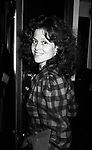 """Sigourney Weaver attend a perfdormance of """"The Life and Adventures of Nicholas Nickleby"""" on October 10, 1981 at the Plymouth Theatre in New York City."""