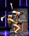 """Cast members perform during the """"Fame the Musical"""" photocall at the Peacock Theatre, London, UK. The number shown is Dancing on the Sidewalk – Performed by Jamal Crawford and Ensemble of Fame"""