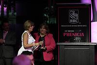 Sylvie Audet<br />  au Gala Phenicia 2018, le jeudi 31 mai 2018, au Parquet de la Caisse de Depot et Placements du Quebec<br /> <br /> PHOTO : Agence Quebec Presse
