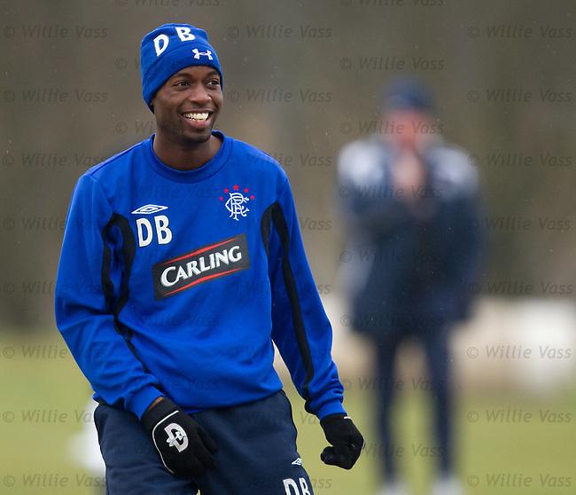 DaMarcus Beasley laughing at training