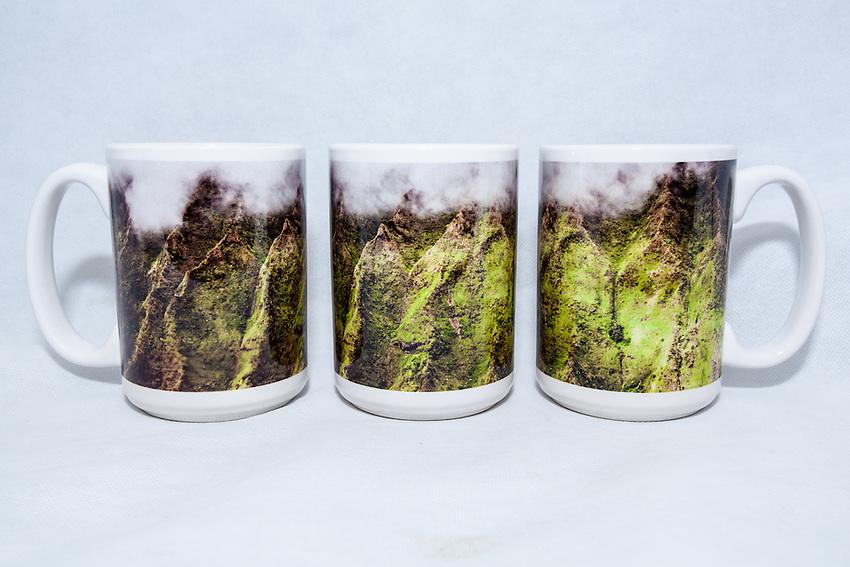 15 oz. Mug  - Ko'olau Mountains - $25 + $6 shipping.<br /> Contact me to order.