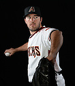 Arizona Diamondbacks Matt Stites (37) during photo day on February 28, 2016 in Scottsdale, AZ.