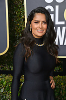 Salma Hayek at the 75th Annual Golden Globe Awards at the Beverly Hilton Hotel, Beverly Hills, USA 07 Jan. 2018<br /> Picture: Paul Smith/Featureflash/SilverHub 0208 004 5359 sales@silverhubmedia.com